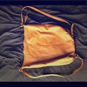 Brown Backpack Purse (Zara)